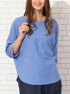 裾ラウンドオーバーサイズTシャツ