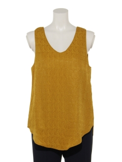 【JANE SMITH】JACQUARD TANK TOP