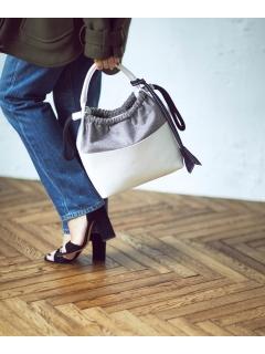 【ODORANTES】大草直子×ODORANTES 異素材コンビショルダーバッグ