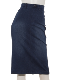 【Basement Ladys】ストレッチタイトデニムスカート
