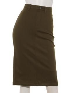 【Basement Ladys】ストレッチタイトカラースカート
