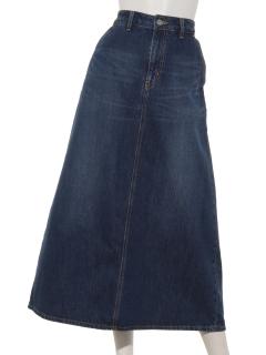 【Basement Ladys】マキシデニムスカート