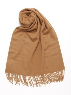 【Basement Ladys】カシミア100%50cm巾大判ストール