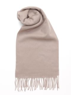 【Basement Ladys】カシミア100%25cm巾マフラー