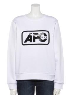 【A.P.C.】ロゴスウェット