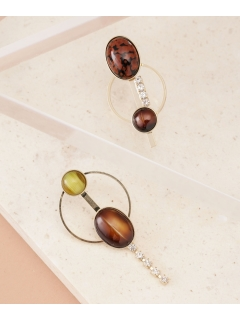【ADER.bijoux】EARTH hoop earring