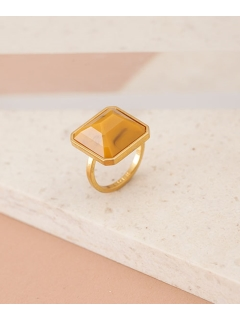 【ADER.bijoux】RETRO square ring