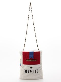 【MUVEIL】タバコケースファーバッグ
