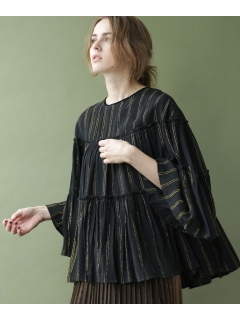 【ne Quittez pas】別注 lurex stripe top