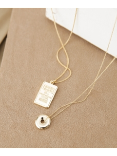 【on the sunny side of】別注Ingod×P-Disc Necklace