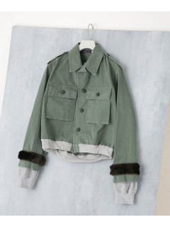 【HARVEYFAIRCLOTH】CroppedBomber