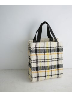 【LilasCampbell】LPcheckpatternboxtotebag