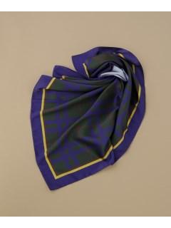【CASSELINI】ラインプリントスカーフ