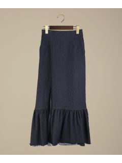 【CARICATURE】ペプラムサイドスリットスカート
