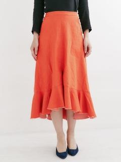 【CARICATURE】ペプラムセンタースリットスカート