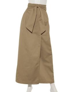 【Dickies】別注ウエストコンシャスロングスカート