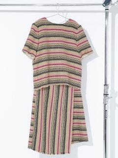 【HEAD】別注ツイードスカートセットアップ