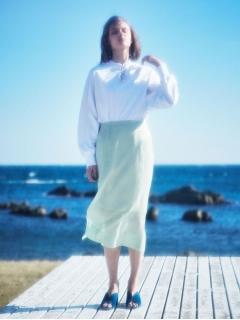 【Library】オーガンジーダブルスカート