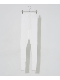 【YOUNG & OLSEN The DRYGOODS STORE】JAQUARD RIB LEGGINS