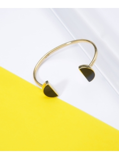 【SOKO】SPLIT MOON CUFF