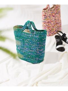【Liberty Bell】Mix color basket bag