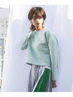 【ODORANTES】OD/キルトジャカードカットソー