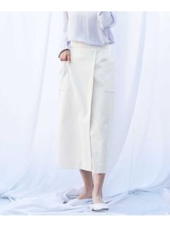 【ODORANTES】OD/ビッグポケットタイトスカート