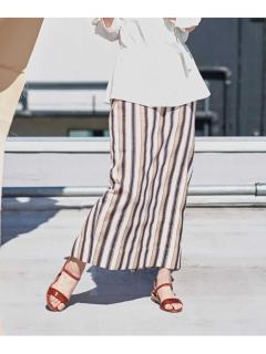 【ODORANTES】OD/ストライプタイトスカート