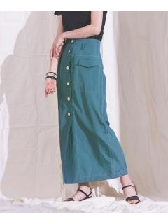 【ODORANTES】OD/フロントボタンスカート