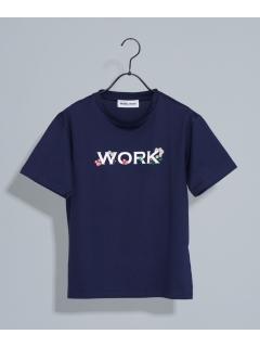 【MUVEIL WORK】WORKプロントTシャツ