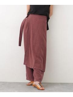 【R JUBILEE】Apron-skirt Pants