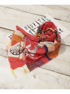 【mii】Pot de Fleurs スカーフ