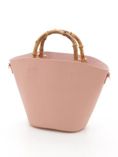 【Basement Ladys】バンブーライクハンドルバッグ