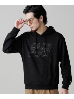 【SILAS】SILAS 別注OVERLAP LOGO HOODIE