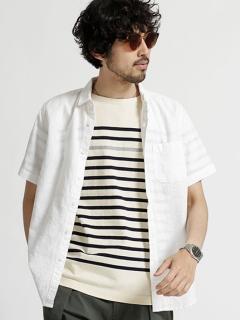 フランダースリネン S/Sシャツ