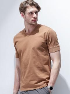 ナノフォルテVネックTシャツ S/S