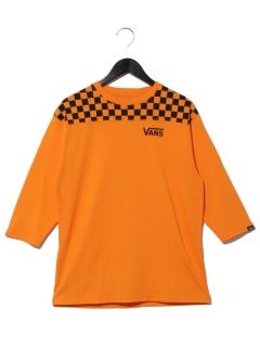 【VANS】Checker 3/4 TEE