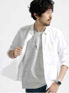 LINENレギュラーカラーシャツ LS