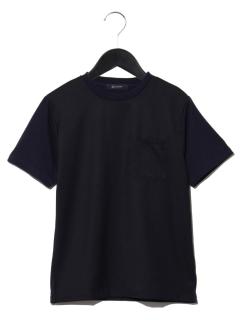 布帛切替Tシャツ SS