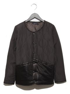 キルティング中綿ジャケット