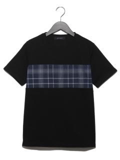 柄切替Tシャツ SS 9999181210227