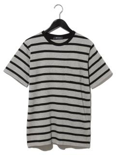 ハニカムボーダーTシャツ SS 9999181210319