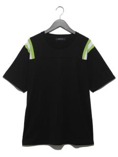 リブショルダーTシャツ SS