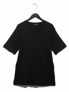 スラブフライスVネックTシャツ SS