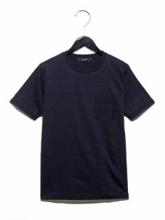 ケーブル裏使いTシャツ SS