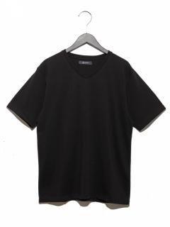 超長綿オーガニックVネックTシャツSS