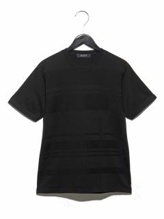 リンクスボーダークルーネックTシャツ SS