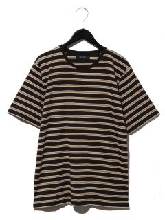 レトロボーダーTシャツ SS