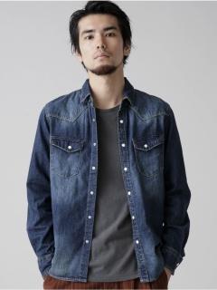 【NUカジュアル】//8ozデニムシャツ 9999171111444