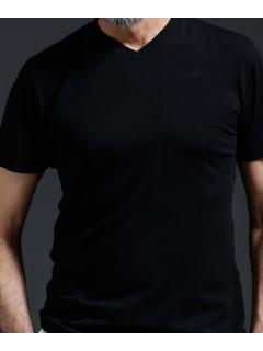 【Will Lounge】WLGUNFADEVネックTシャツ